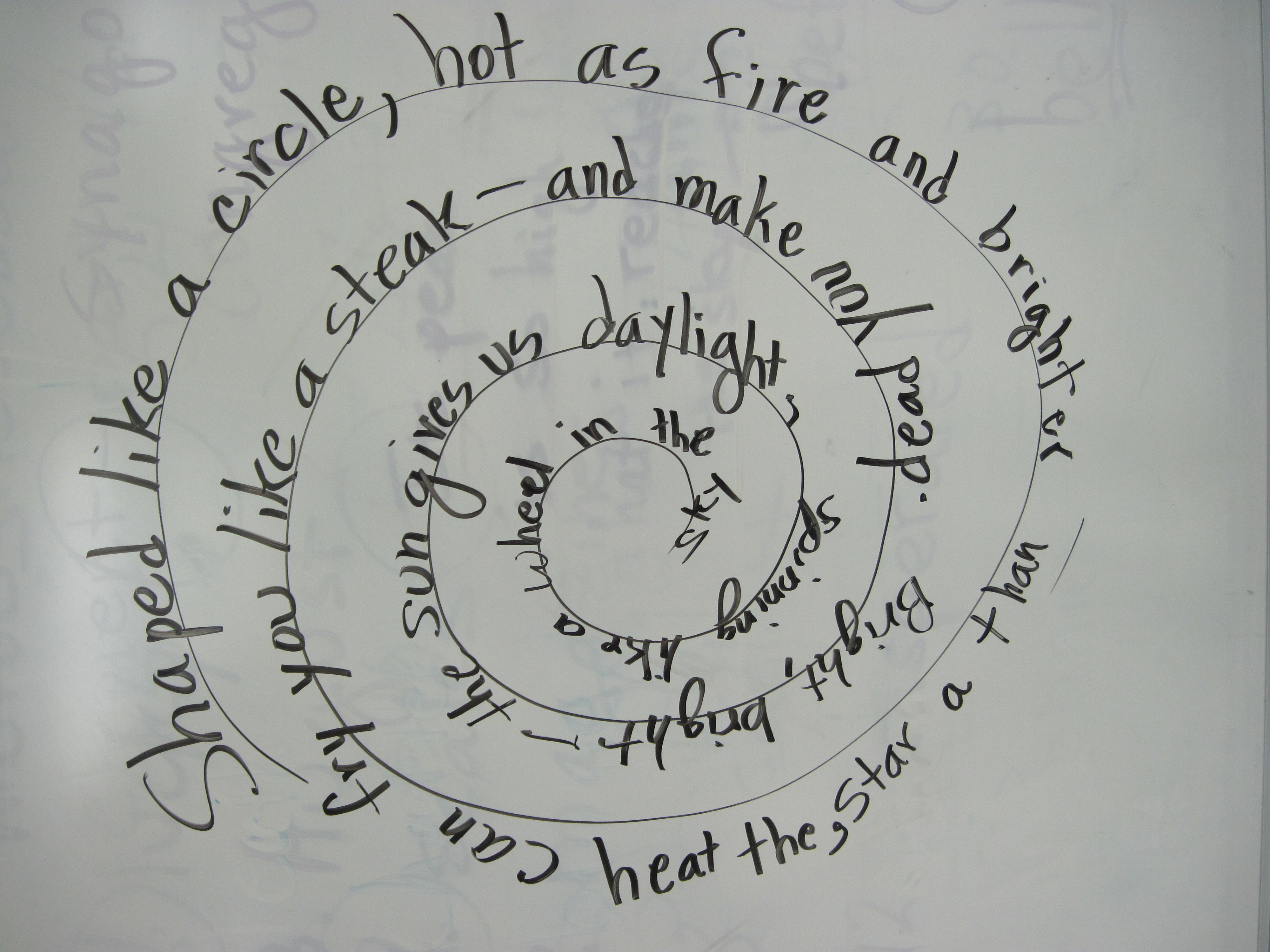 easy heart concrete poem - photo #12